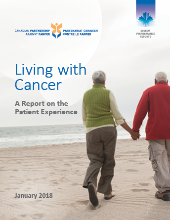 Cover image of  Living with Cancer: A Report on the Patient Experience